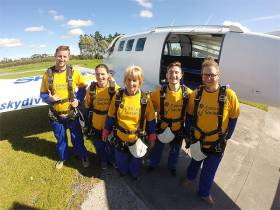 Jump for Cancer at Skydive Auckland on Saturday 26th August 2017