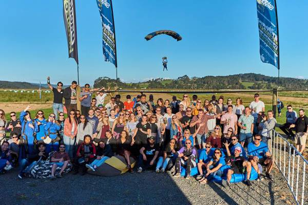 "Auckland Agent Showcase Event - ""The BEST skydive I have ever done..."""