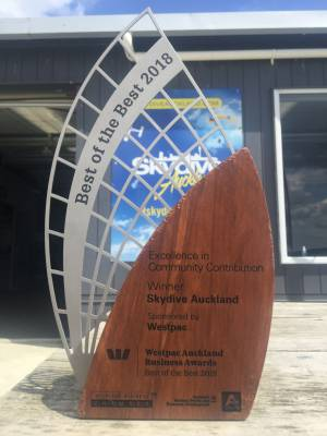 Award Winning Skydive Auckland - Best of the Best!