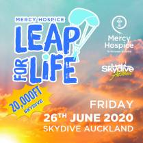 Mercy Hospice Leap For Life at Skydive Auckland