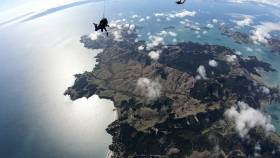 Skydive Auckland - Waiheke Island, Amazing Views And Making The News!