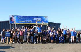 BBQ and skydive event
